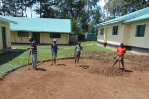 The Water Project: Ebukuya Special School for the Deaf -  Excavation