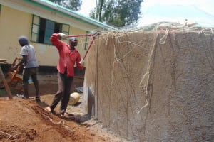 The Water Project: Ebukuya Special School for the Deaf -  Dome Setting