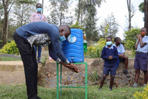 The Water Project: Ebukuya Special School for the Deaf -  Handwashing Illustration