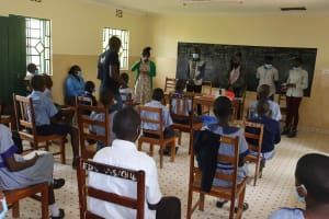 The Water Project: Ebukuya Special School for the Deaf -  Ongoing Training