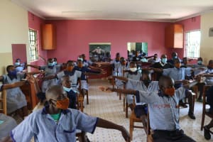 The Water Project: Ebukuya Special School for the Deaf -  Physical Distancing