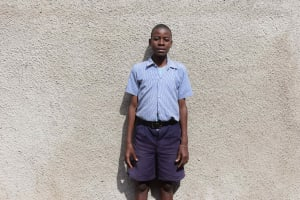 The Water Project: Ebukuya Special School for the Deaf -  Student Fabian