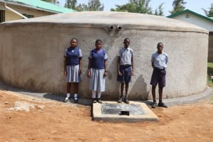 The Water Project: Ebukuya Special School for the Deaf -  Students At Waterpoint