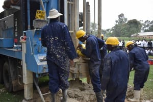 The Water Project: Shamberere Boys' High School -  Drilling Forms