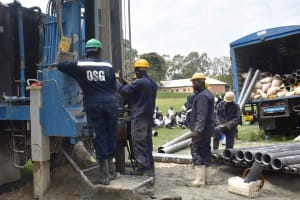 The Water Project: Shamberere Boys' High School -  Casing