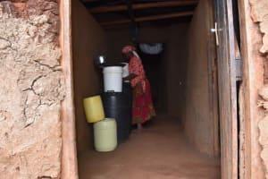 The Water Project: Shivakala Community, Mukangu Spring -  Florence Water Storage