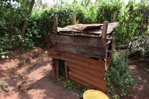 The Water Project: Shivakala Community, Mukangu Spring -  Animal Pen