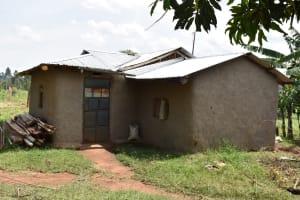 The Water Project: Mang'uliro Community, Christopher Wambula Spring -  A Community House