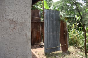 The Water Project: Mang'uliro Community, Christopher Wambula Spring -  Bathroom