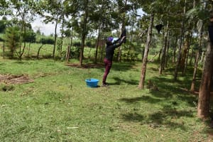 The Water Project: Mang'uliro Community, Christopher Wambula Spring -  Clothesline