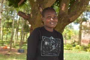 The Water Project: Mang'uliro Community, Christopher Wambula Spring -  Elizabeth S