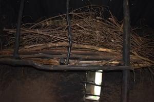 The Water Project: Mang'uliro Community, Christopher Wambula Spring -  Firewood In Kitchen