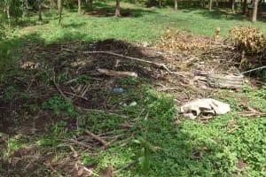 The Water Project: Mang'uliro Community, Christopher Wambula Spring -  Garbage Pile
