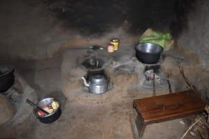 The Water Project: Mang'uliro Community, Christopher Wambula Spring -  Inside Kitchen