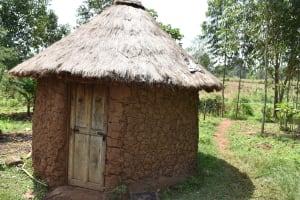 The Water Project: Mang'uliro Community, Christopher Wambula Spring -  Outside Kitchen