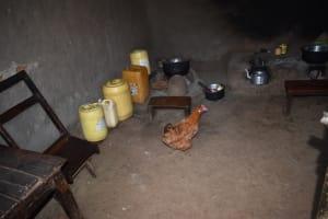The Water Project: Mang'uliro Community, Christopher Wambula Spring -  Water Storage