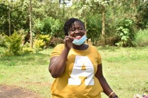 The Water Project: Nangurunya Community, Robert Musali Spring -  Brushing Your Teeth