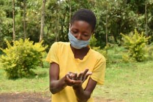 The Water Project: Nangurunya Community, Robert Musali Spring -  Ten Handwashing Steps