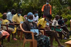 The Water Project: Nangurunya Community, Robert Musali Spring -  Training
