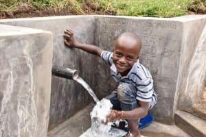 The Water Project: Bukhakunga Community, Wakukha Spring -  A Happy Customer