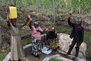 The Water Project: Bukhakunga Community, Wakukha Spring -  Celebrating
