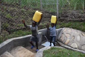 The Water Project: Bukhakunga Community, Wakukha Spring -  On The Way Home