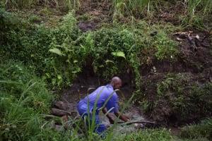 The Water Project: Bukhakunga Community, Wakukha Spring -  Excavation