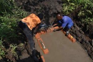 The Water Project: Bukhakunga Community, Wakukha Spring -  Brickwork Begins