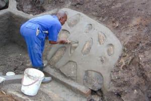 The Water Project: Bukhakunga Community, Wakukha Spring -  Pitching Stones