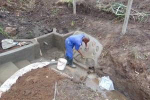 The Water Project: Bukhakunga Community, Wakukha Spring -  Stone Pitching