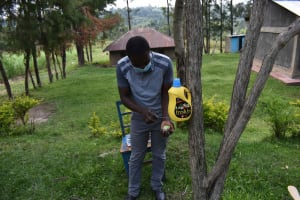 The Water Project: Bukhakunga Community, Wakukha Spring -  Handwashing