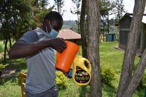 The Water Project: Bukhakunga Community, Wakukha Spring -  Leaky Tin Construction