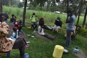 The Water Project: Bukhakunga Community, Wakukha Spring -  Mask Wearing