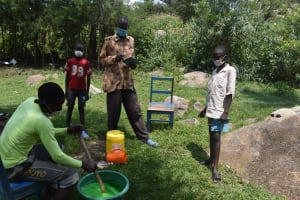 The Water Project: Bukhakunga Community, Wakukha Spring -  Soap Almost Done