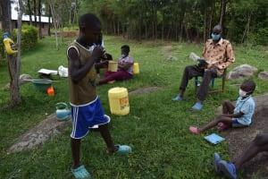 The Water Project: Bukhakunga Community, Wakukha Spring -  Tooth Brushing
