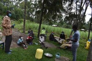 The Water Project: Bukhakunga Community, Wakukha Spring -  Training Discussion