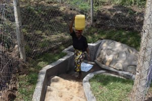 The Water Project: Bukhakunga Community, Wakukha Spring -  Easier To Fetch