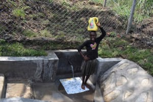 The Water Project: Bukhakunga Community, Wakukha Spring -  Happy For Water