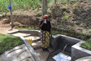 The Water Project: Bukhakunga Community, Wakukha Spring -  Joyna Drinking Water