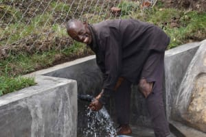 The Water Project: Bukhakunga Community, Wakukha Spring -  Michael Smiling