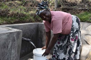 The Water Project: Bukhakunga Community, Wakukha Spring -  So Much Easier