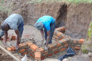 The Water Project: Shamoni Community, Shiundu Spring -  Getting Taller