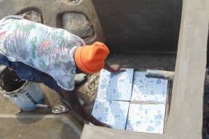 The Water Project: Shamoni Community, Shiundu Spring -  Tiles