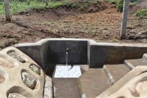 The Water Project: Shamoni Community, Shiundu Spring -  Another Angle