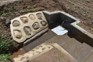 The Water Project: Shamoni Community, Shiundu Spring -  Completed