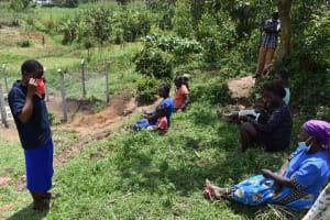 The Water Project: Shamoni Community, Shiundu Spring -  Mask Wearing