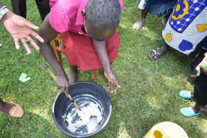 The Water Project: Shamoni Community, Shiundu Spring -  Soap Making