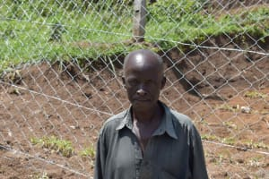 The Water Project: Shamoni Community, Shiundu Spring -  Daudi Koko