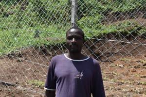 The Water Project: Shamoni Community, Shiundu Spring -  Vincent Chambi