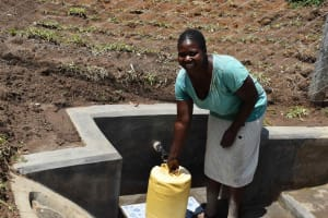 The Water Project: Shamoni Community, Shiundu Spring -  All Smiles